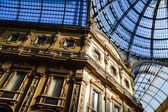 Galleria Vittorio Emanuele II in central of Milan, Italy — Foto de Stock