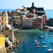 Traditional Mediterranean architecture of Vernazza, Italy — Stock Photo #54578883