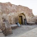 Movie Star Wars in the Sahara desert — Stock Photo #52634219