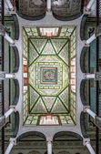 Typical decoration of the ceilings of tunisia — Stock Photo