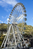Ferris Wheel at Andorra la Vella Andorra — Stock Photo