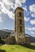 Romanesque church Sant Miquel d Engolasters, Andorra — Stock Photo