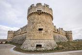 Grajal de Campos Castle , Leon — Stock Photo