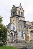 Parochial church of San Vicente Martir and San Sebastian, Frias Burgos — Stock Photo