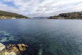 Panoramic view of El Ferrol Spain — Stock fotografie