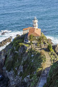 Lighthouse of Cudillero, Asturias  — Stock fotografie