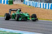 Team Caterham F1, Kamui Kobayashi, 2014 — Stockfoto