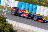 Team Red Bull F1, Sebastian Vettel, 2012 — Foto de Stock