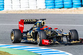 Team Lotus Renault F1, Romain Grosjean — Stock Photo