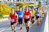 XXVIII Half Marathon Bahia de Cadiz — Stock Photo