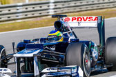 Team Williams F1, Bruno Senna — Stock Photo