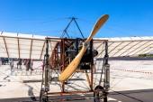 Airplane Bleriot XI — Stock Photo