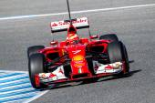Team Scuderia Ferrari F1, Kimi Raikkonen — Stock Photo