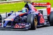 Team Toro Rosso F1, Jean-Eric Vergne — Stock Photo