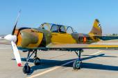 Airplane Yakovlev Yak-52 — Stock Photo