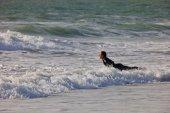Surfer on 2nd Championship Impoxibol — Stock Photo