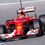 Постер, плакат: Team Scuderia Ferrari F1 Kimi Raikkonen
