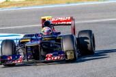 Team Toro Rosso F1, Jean Eric Vergne — Стоковое фото