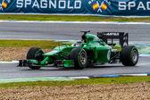 Team Caterham F1, Kamui Kobayashi — Stok fotoğraf
