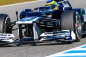 Team Williams F1, Bruno Senna — Stockfoto