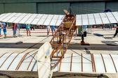 Airplane Bleriot XI — Foto de Stock