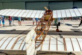 Airplane Bleriot XI — Foto Stock
