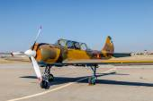 Airplane Yakovlev Yak-52 — Stock Photo