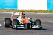 Team Force India F1, Nico Hulkenberg — Stock Photo