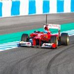 Постер, плакат: Fernando Alonso of Scuderia Ferrari F1