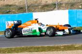 Nico Hulkenberg of Force India F1 — Stock Photo