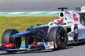 Team Sauber F1, Kamui Kobayashi, 2012 — Stock Photo
