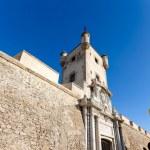Doors of Earth of Cadiz, Spain — Stock Photo #64537161