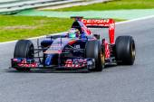 Team Toro Rosso F1,  Jean-Eric Vergne, 2014 — Stock Photo