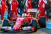 Scuderia Ferrari F1,  Sebastian Vettel, 2015 — Stock Photo