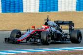 Team McLaren Honda F1,  Jenson Button, 2015 — Stock Photo
