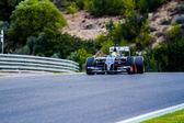 Team Sauber F1, Esteban Gutierrez, 2014 — Stock Photo