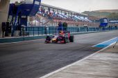 Team Red Bull Racing F1, Daniel Ricciardo, 2014 — Stock Photo