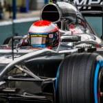 Постер, плакат: Team McLaren Mercedes F1 Kevin Magnussen 2014