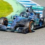 Постер, плакат: Mercedes AMG Petronas F1 Nico Rosberg 2015
