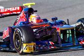 Team Toro Rosso F1, Jean Eric Vergne — Stock Photo