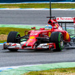 Постер, плакат: Team Scuderia Ferrari F1 Fernando Alonso