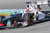 Team Sauber F1, Kamui Kobayashi — Stock Photo