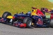 Team Red Bull F1, Sebastian Vettel — Stock Photo