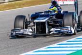 Team Williams F1, Bruno Senna — Stock Photo