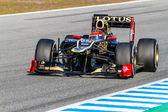 Team Lotus Renault F1, Romain Grosjean — Stock Photo