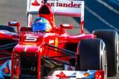 Scuderia Ferrari F1, Fernando Alonso — Stock Photo