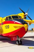 Seaplane Canadair CL-215  — Stock Photo
