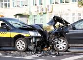 Cars accident — Stock Photo