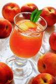 Jelly from peach fruits — Foto de Stock