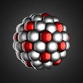 A single atoml scientific illustration — Стоковое фото